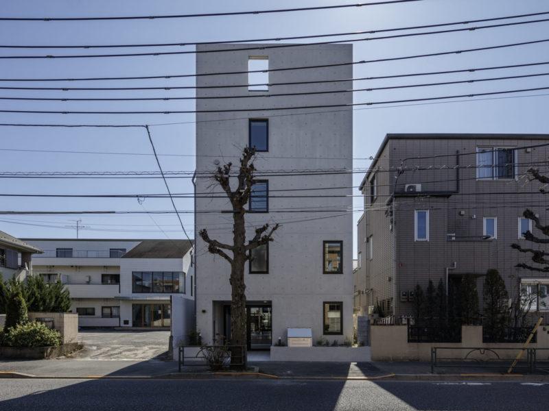八雲の集合住宅
